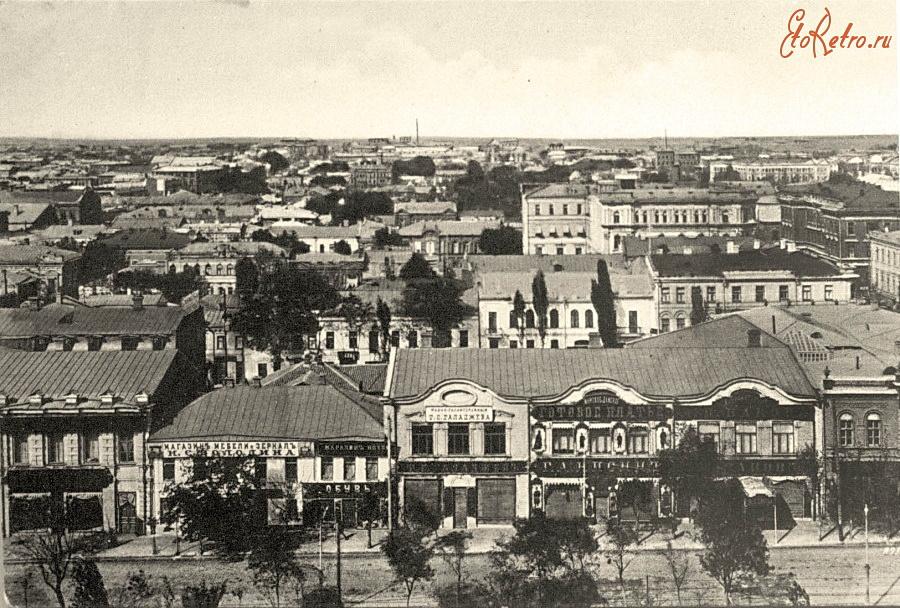 Город Ростов-на-Дону в конце XIX века
