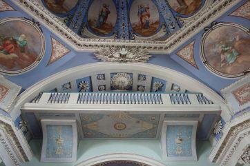 Фрагмент интерьера Димитриевского храма