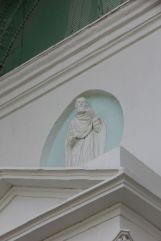 Св. праведный Иоаким. Фрагмент северного фасада храма
