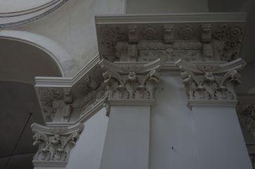 Детали лепного декора в Спасо-Преображенском соборе