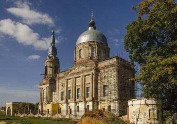 Церковь Спаса Нерукотворного в с. Райсеменовское