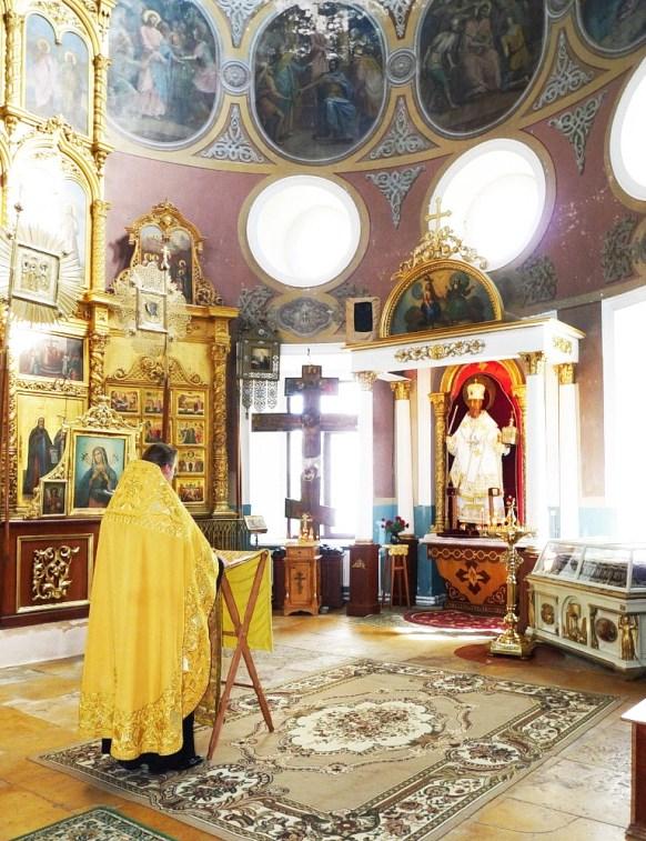 Молебен св. Николаю Чудотворцу в Введенском храме с. Спирово