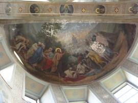 «Явление Христа народу». Роспись купола Введенского храма