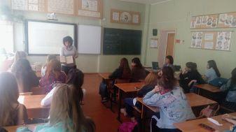 Занятие в Ростовском педагогическом колледже