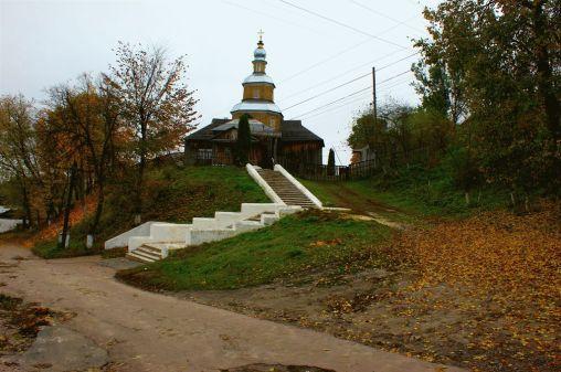 Никольская церковь в г. Новгород-Северский. Первая четверть XVIII в.