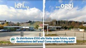ex-Distributore ESSO località Stella - quale destino per l'area - Dimmi Sasso Marconi