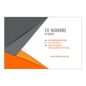 Tarjetas de Presentación Mate y Brillo UV con Diseño