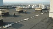 ремонт на покрив плосък панелен блок