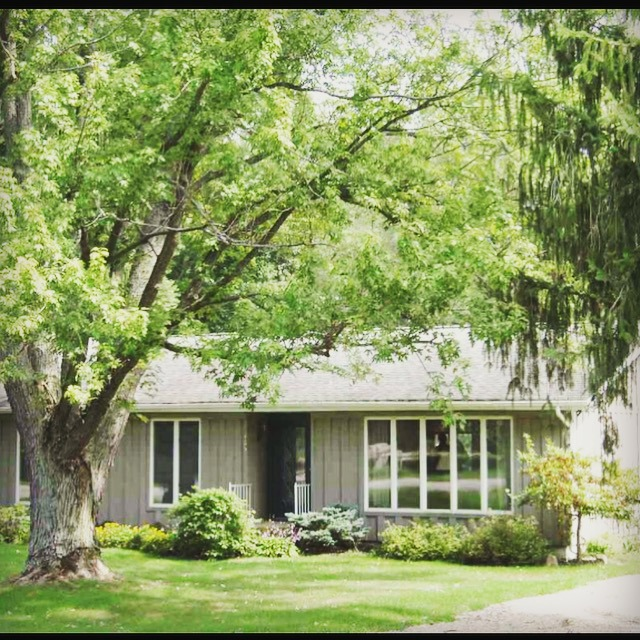 Follow the remodel of this 1950's cottage home at dimplesonmywhat.com