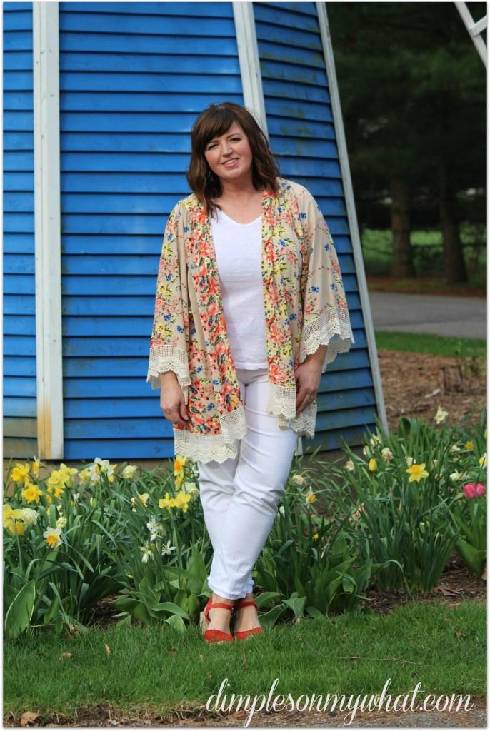 Easy Summer Fashion / Kimono / Over 50 Fashion