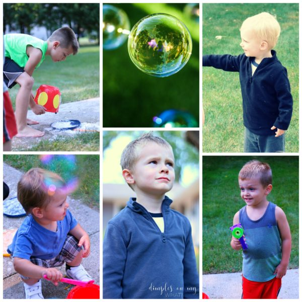 A lesson in self acceptance learned from blowing bubbles with the kids / Self Acceptance / Be Unique