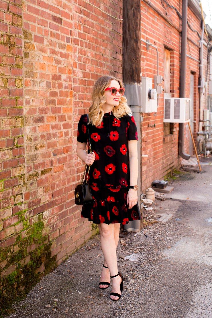 Floral Dress | pipmegan.com | Bridging the Gap
