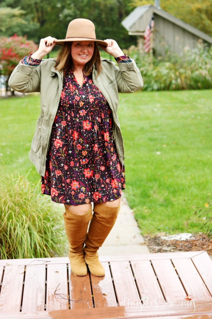 Over the Knee Boots | Wide Calf Over the Knee Boots | Almost Plus Size Fashion | Fashion Over 50