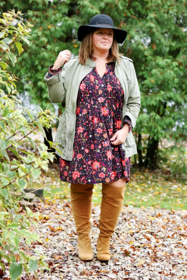 Wide Calf Over the Knee Boots | Extended Calf Boots | Plus Size Fashion | Dress and OTK Boots | Fall Fashion
