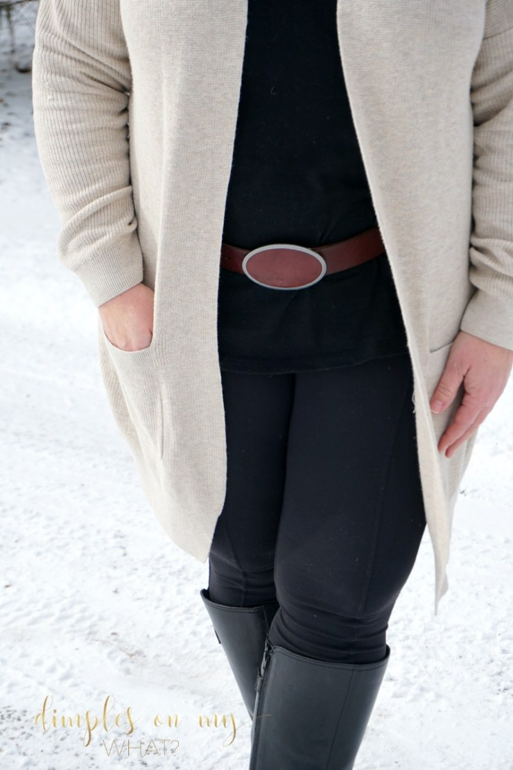 Black and Tan Outfit | Full Figured Fashion | Fashion for women over 40 | Fashion for older women