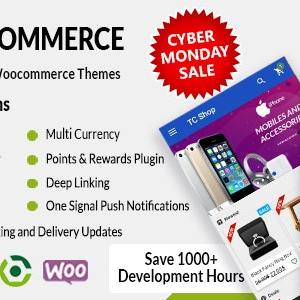 JUAL Android Woocommerce - Universal Native Android Ecommerce / Store Full Mobile Application