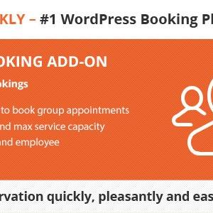 JUAL Bookly Group Booking (Add-on)