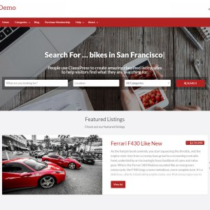 JUAL ClassiPress - The bestselling classifieds theme for WordPress