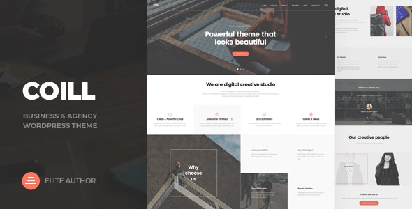 JUAL Coill - Business & Agency WordPress Theme