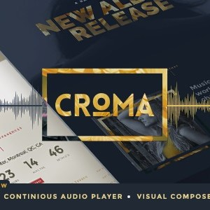 JUAL Croma - Responsive Music WordPress Theme with Ajax and Continuous Playback