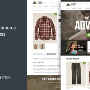 JUAL Crux - A modern and lightweight WooCommerce theme