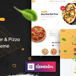 JUAL Foodmood - Cafe & Delivery WordPress Theme