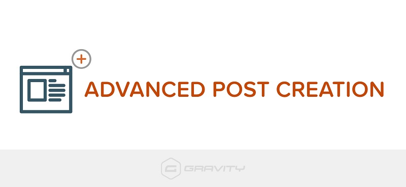JUAL Gravity Forms Advanced Post Creation Add-On