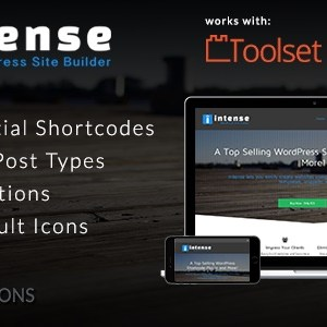 JUAL Intense - Shortcodes and Site Builder for WordPress