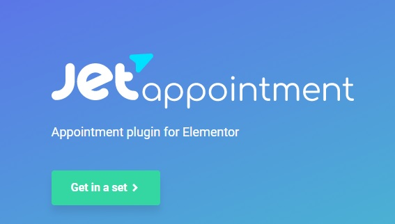 JUAL JetAppointments - Appointment Plugin for Elementor