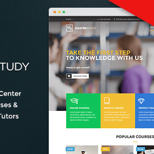 JUAL Masterstudy - Education WordPress Theme for Learning