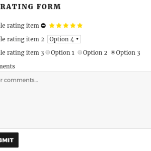 JUAL Multi Rating Pro - A Powerful Rating System and Review Plugin for WordPress