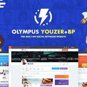 JUAL Olympus - Powerful BuddyPress Theme for Social Networking