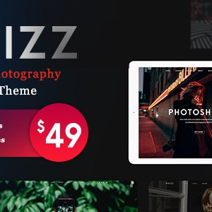 JUAL Photography Whizz - Photography WordPress for Photography