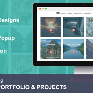 JUAL Portfolio and Projects Pro By WpOnlineSupport