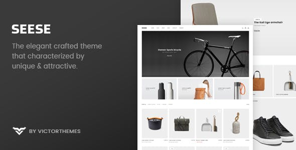 JUAL Seese - Responsive eCommerce Theme