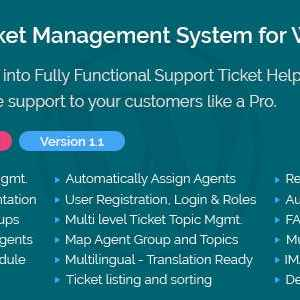 JUAL Support Ticket Management System for WordPress