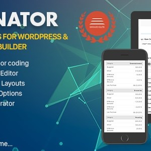 JUAL Tablenator - Advanced Tables for WordPress & WP Bakery Page Builder