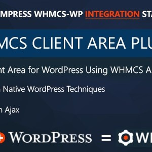 JUAL WHMCS Client Area for WordPress by WHMpress