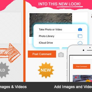 JUAL WP Comment Images and Videos