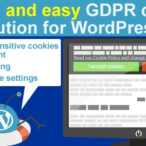 JUAL WeePie Cookie Allow - Complete GDPR Cookie Consent Solution for WordPress