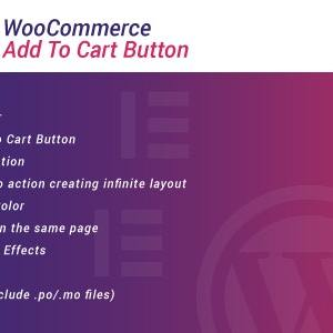 JUAL WooCommerce Add To Cart Button for Elementor