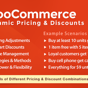 JUAL WooCommerce Dynamic Pricing & Discounts