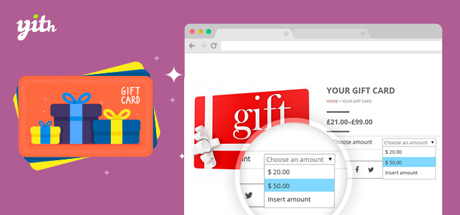 JUAL YITH WooCommerce Gift Cards