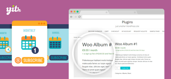 JUAL YITH WooCommerce Subscription