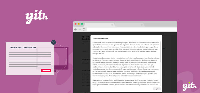 JUAL YITH WooCommerce Terms and Conditions Popup