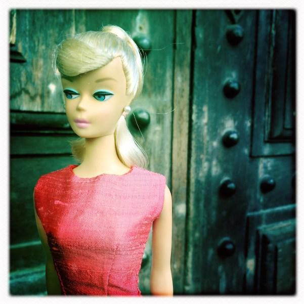 Barbie Dress Pink by Dinahs Dolls