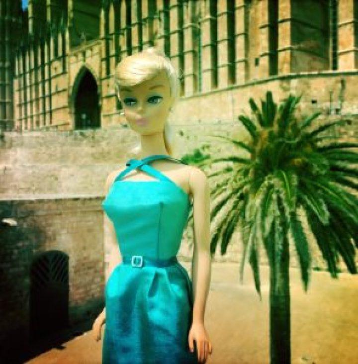 Handmade Barbie Vintage style Dress