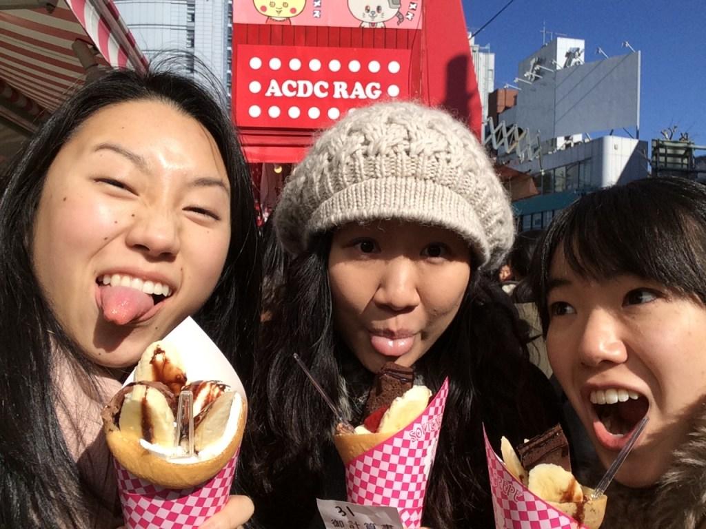 Crepes from Harajuku!