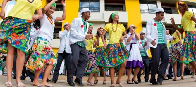 Barrio Antiguo, Lapa y Samba