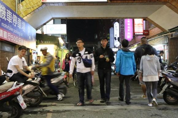 heading to the night market